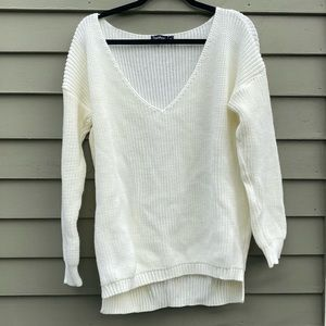 BOOHOO | White Sweater
